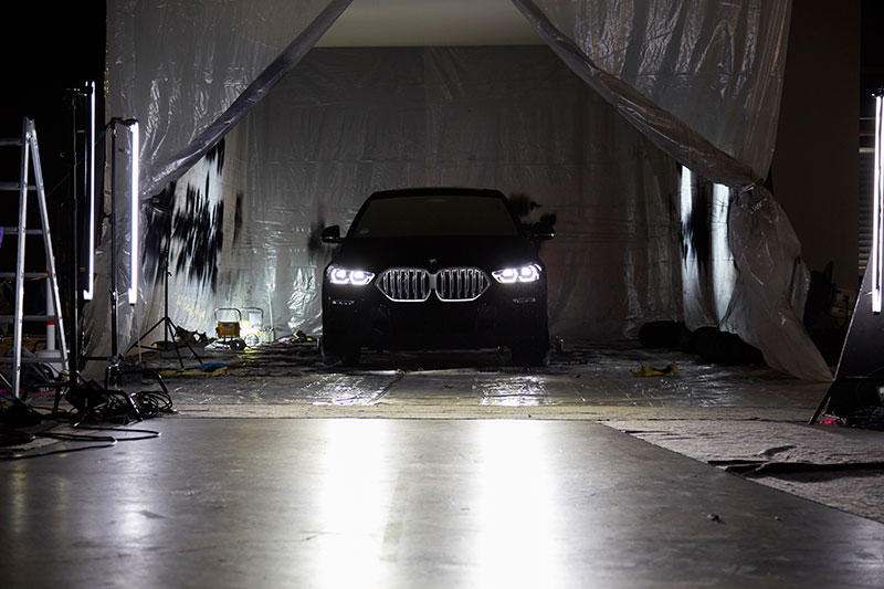 bmw x6 vantablack 12 BMW Unveils One of a Kind X6 in Vantablack