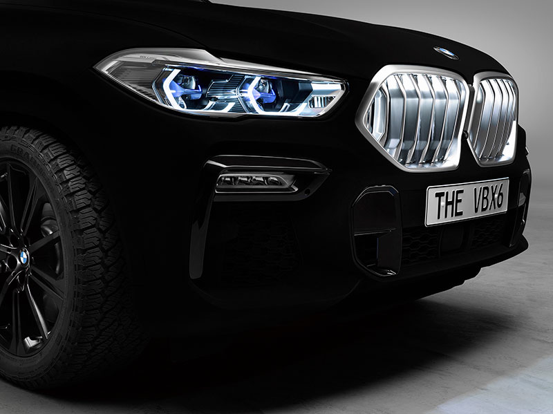 bmw x6 vantablack 4 BMW Unveils One of a Kind X6 in Vantablack