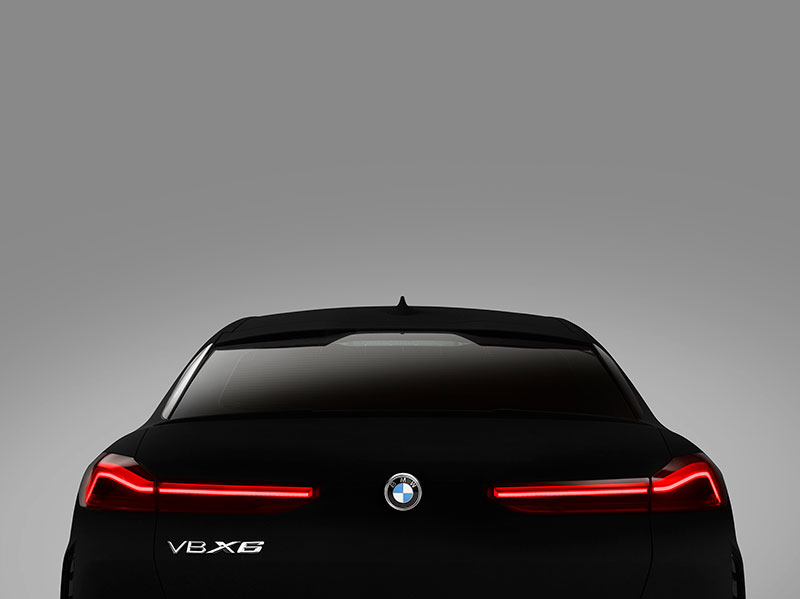 bmw x6 vantablack 5 BMW Unveils One of a Kind X6 in Vantablack