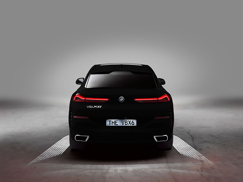 bmw x6 vantablack 7 BMW Unveils One of a Kind X6 in Vantablack