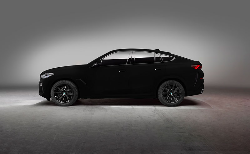 bmw x6 vantablack 8 BMW Unveils One of a Kind X6 in Vantablack