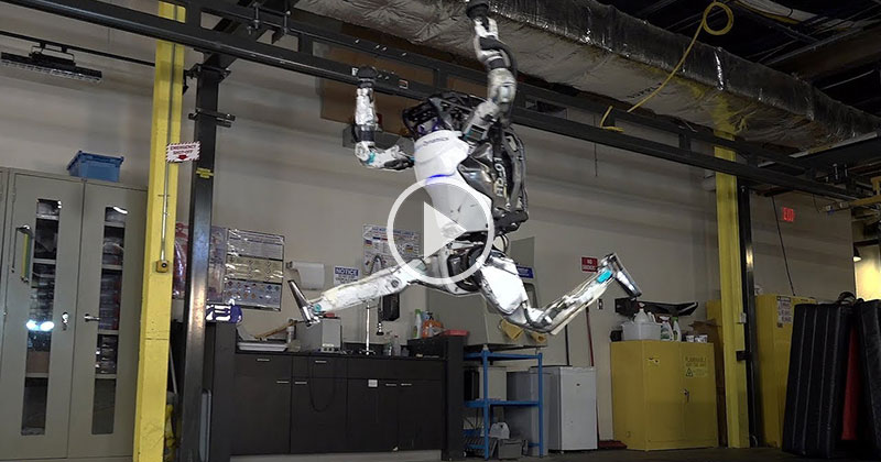 Oh Good, Boston Dynamics Has Robots Doing Parkour Now