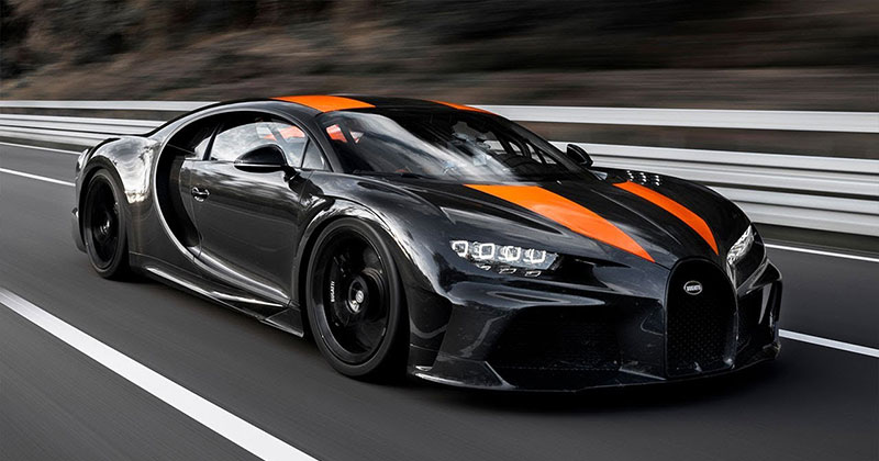New Bugatti Chiron Breaks 300 mph Barrier