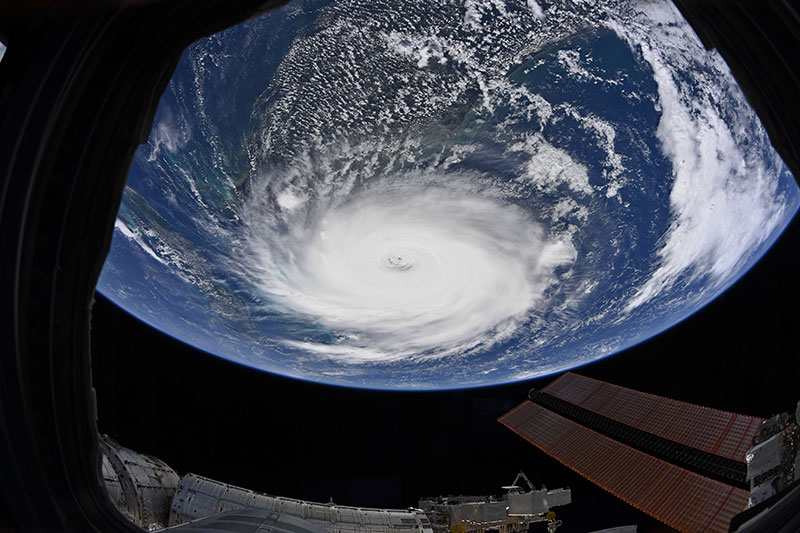 hurricane dorian from space 4 Hurricane Dorian Looks Menacing from Space (10 Photos)