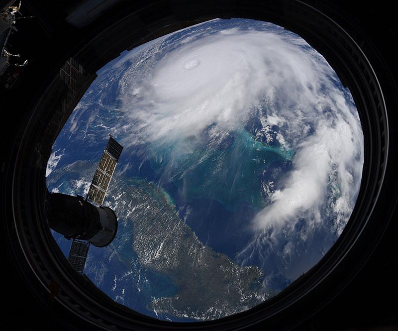 hurricane dorian from space 5 Hurricane Dorian Looks Menacing from Space (10 Photos)
