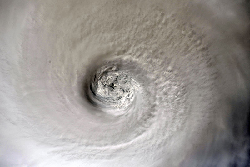 hurricane dorian from space 6 Hurricane Dorian Looks Menacing from Space (10 Photos)