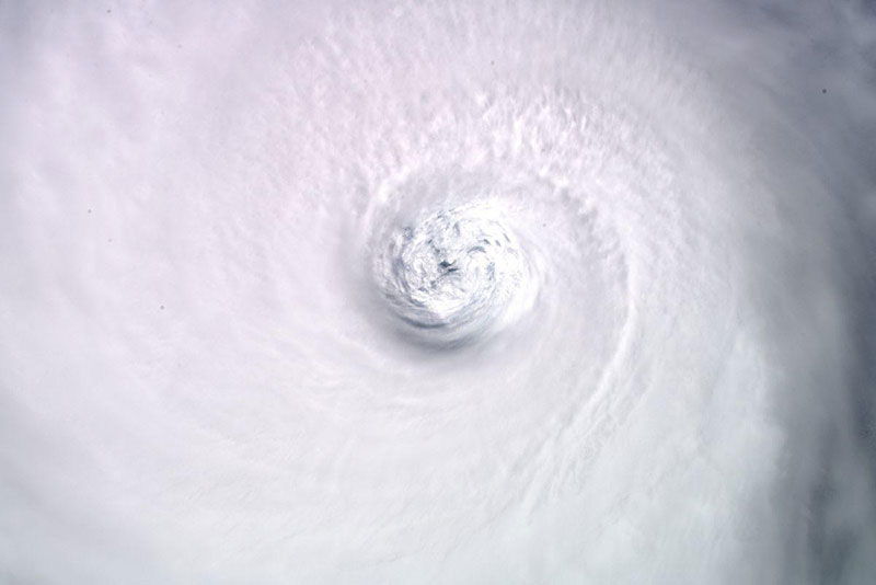 hurricane dorian from space 8 Hurricane Dorian Looks Menacing from Space (10 Photos)