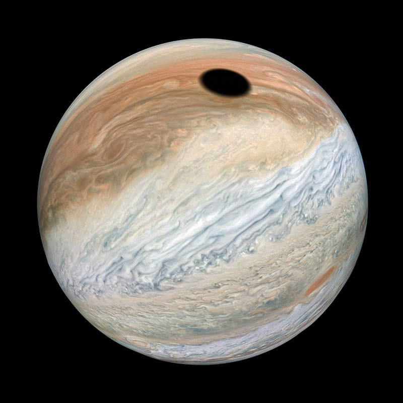 solar eclipse on jupiter 3 A Solar Eclipse on Jupiter