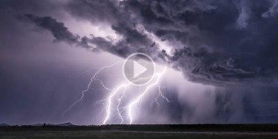Storm Chaser Uses 4K Phantom to Capture Lightning Like You've NeverSeen