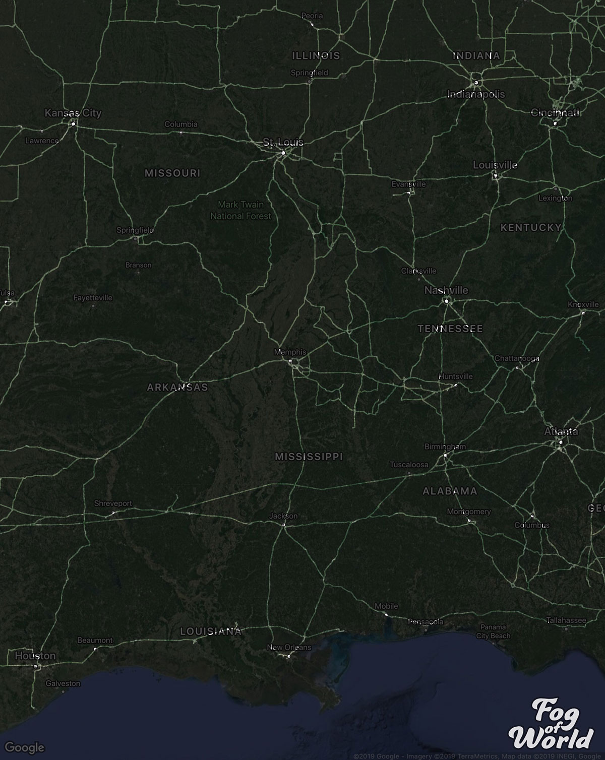 truck driver map reddit 7 A Truck Driver Recorded His Travels Since 2012 and Mapped the Results