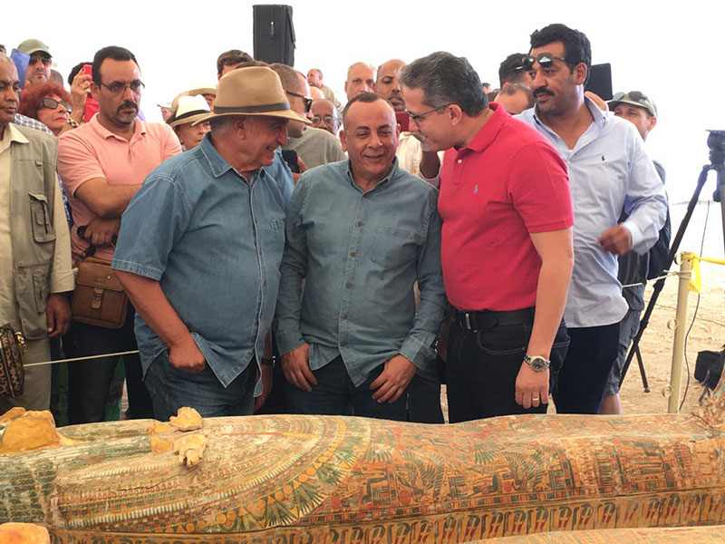 ancient coffins found in egypt 8 30 Ancient Coffins from 3,000 Years Ago Discovered in Luxor, Egypt