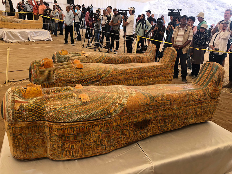 ancient coffins found in egypt 9 30 Ancient Coffins from 3,000 Years Ago Discovered in Luxor, Egypt