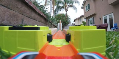 This Backyard Hot Wheels Course Has Turbo Boosters and It'sAmazing