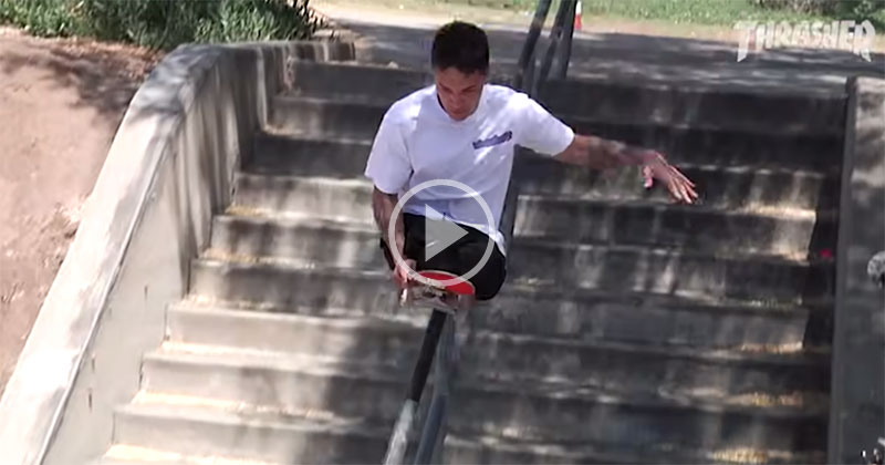 Felipe Nunes, the Double Amputee Pushing the Boundaries of Skateboarding