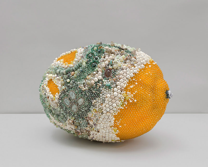 moldy fruit sculptures formed from gemstones by kathleen ryan 14 Decoration and Decay: Moldy Fruit Sculptures Formed From Gemstones