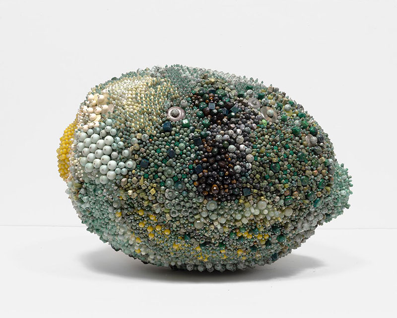 moldy fruit sculptures formed from gemstones by kathleen ryan 2 Decoration and Decay: Moldy Fruit Sculptures Formed From Gemstones