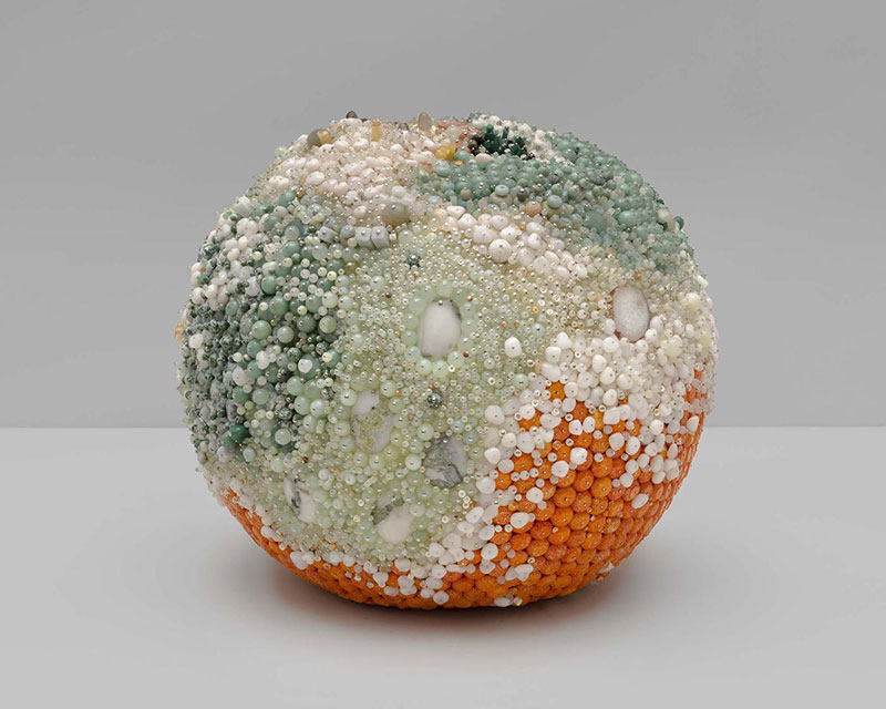 moldy fruit sculptures formed from gemstones by kathleen ryan 8 Decoration and Decay: Moldy Fruit Sculptures Formed From Gemstones