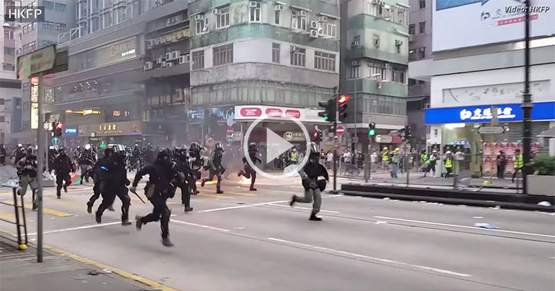 This is Not a Movie, It's October 1st, 2019 in Hong Kong