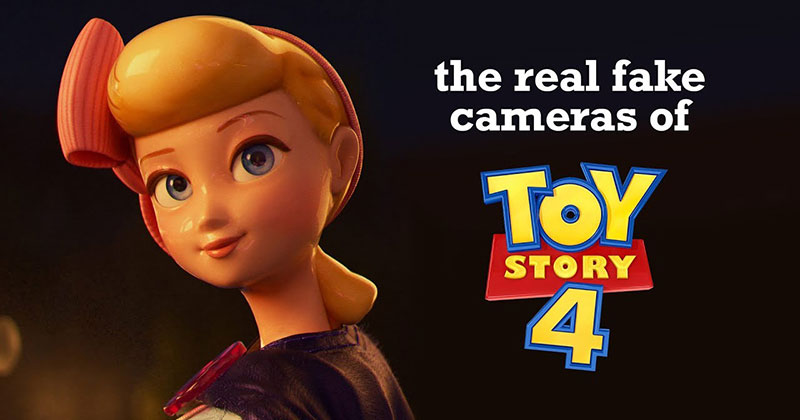 The Real Fake Cameras of Toy Story 4 Shows How Pixar Continues to Evolve