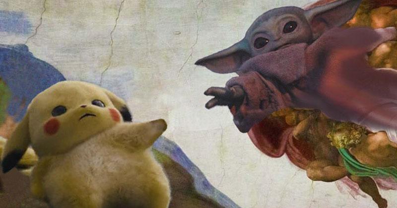 When Baby Yoda Met Pikachu Twistedsifter