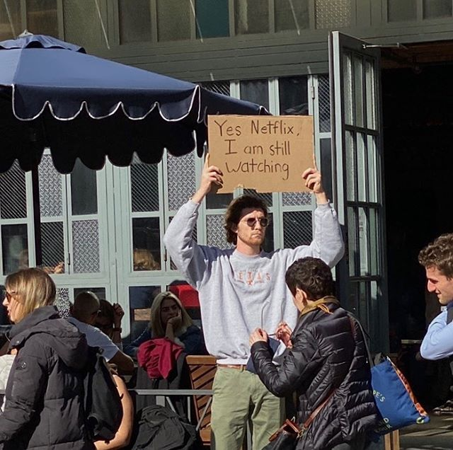 dude with sign protests random things instagram 5 Dude with Sign Protests the Most Random Things (13 Photos)