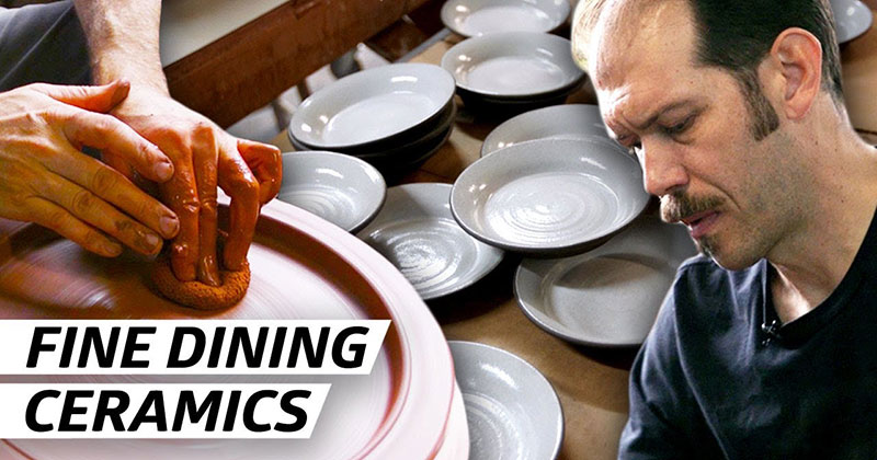 How a Ceramics Master Makes Plates for Michelin-Starred Restaurants