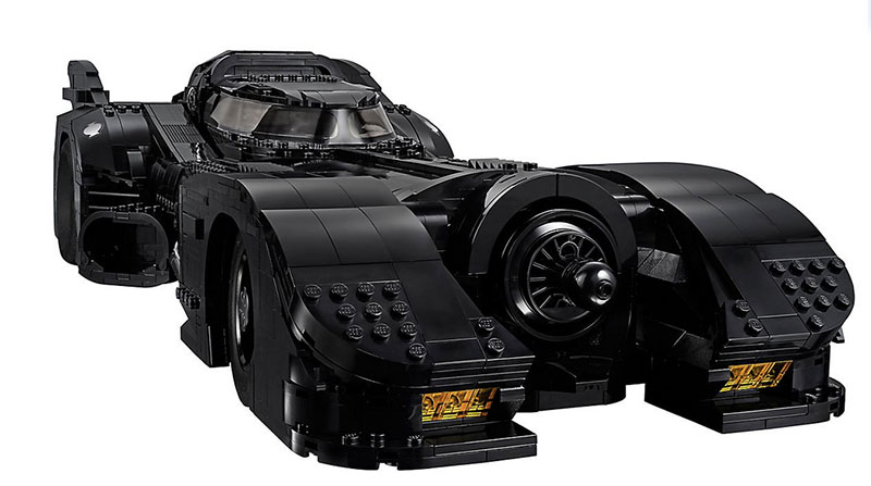 lego unveils 30th anniversary edition of tim burton 1989 batmobile 3 LEGO Unveils 30th Anniversary Edition of Tim Burtons 1989 Batmobile