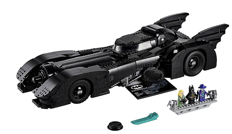 lego unveils 30th anniversary edition of tim burton 1989 batmobile 6 LEGO Unveils 30th Anniversary Edition of Tim Burtons 1989 Batmobile