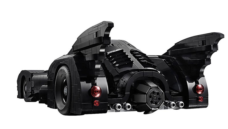 lego unveils 30th anniversary edition of tim burton 1989 batmobile 8 LEGO Unveils 30th Anniversary Edition of Tim Burtons 1989 Batmobile