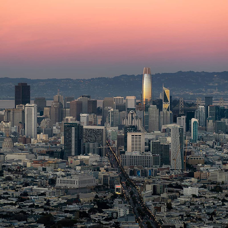 sunset photo of san francisco that shows the passage of time andrea fanelli 1 A Sunset Photo of San Francisco That Shows the Passage of Time