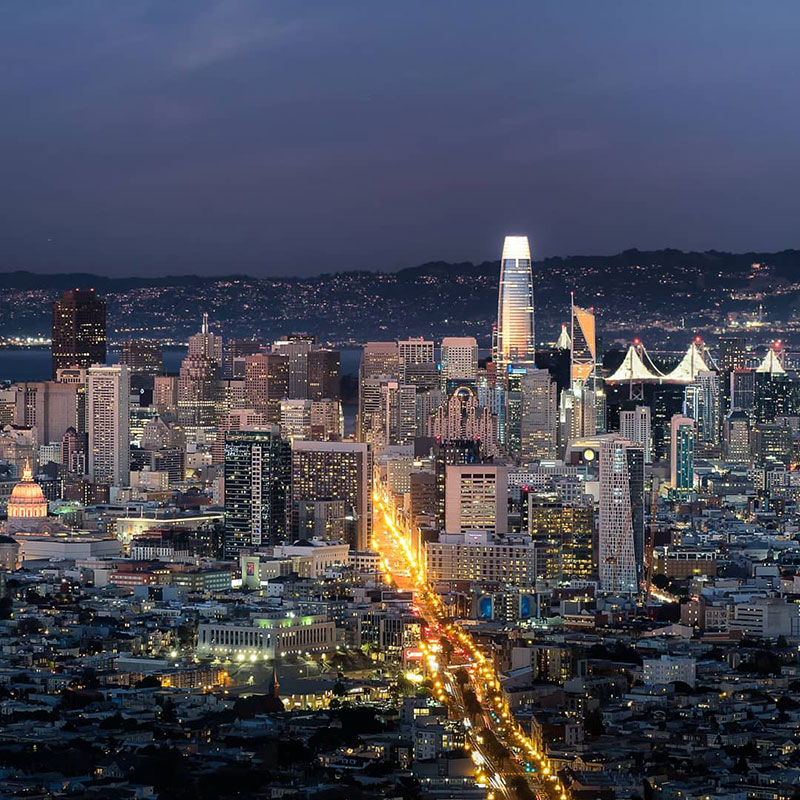 sunset photo of san francisco that shows the passage of time andrea fanelli 4 A Sunset Photo of San Francisco That Shows the Passage of Time