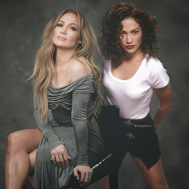 celebs photoshopped with their younger self by ard gelinck 21 Photoshop Wiz Poses Celebs Hanging With Their Younger Selves