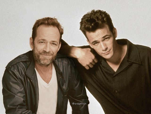 celebs photoshopped with their younger self by ard gelinck 7 Photoshop Wiz Poses Celebs Hanging With Their Younger Selves