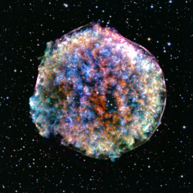 death of a star tycho supernova The Death of a Star: Tycho Supernova