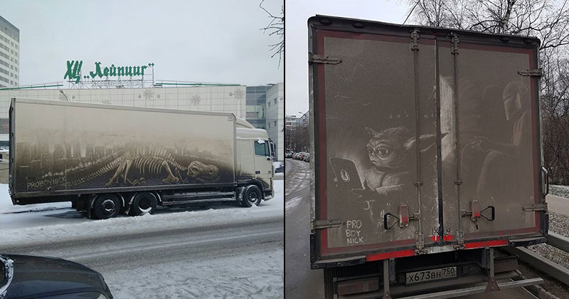 The Dirtiest Russian Street Art You Will Ever See (13 Photos)