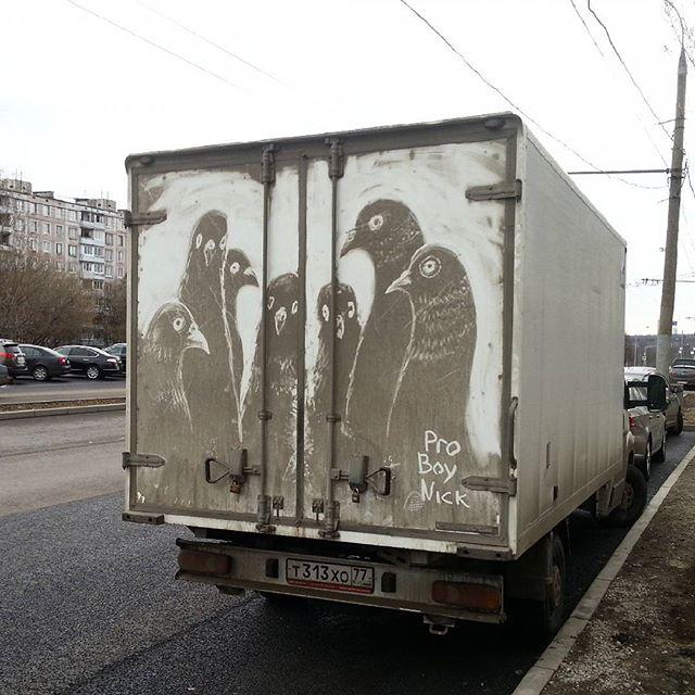 dirty russian street art by pro boy nick nikita golubev 5 The Dirtiest Russian Street Art You Will Ever See (13 Photos)