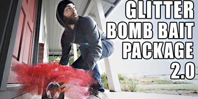 Remember the Glitter Bomb Trap to Bust Porch Pirates? It's Back withUpgrades