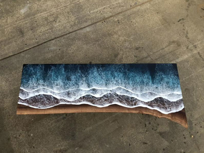 These Live Edge Ocean Shore Coffee Tables Are Incredible 18 Pics