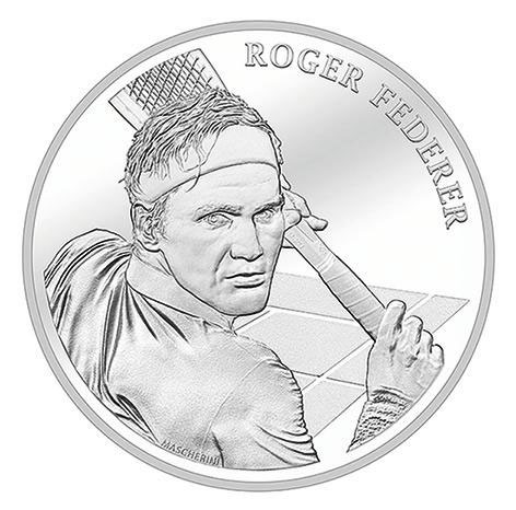 roger federer becomes first ever living person celebrated on swiss coin 1 Roger Federer Becomes First Ever Living Person Celebrated on Swiss Coins