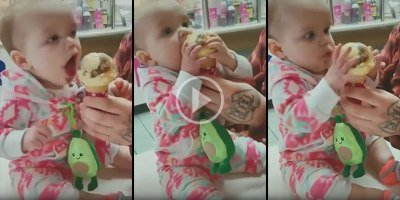 This Baby Tasting Ice Cream for the First Time is All ofUs