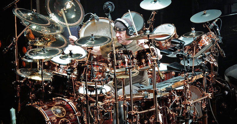 10 Moments of Drumming Mastery in Memory of Rock Legend Neil Peart
