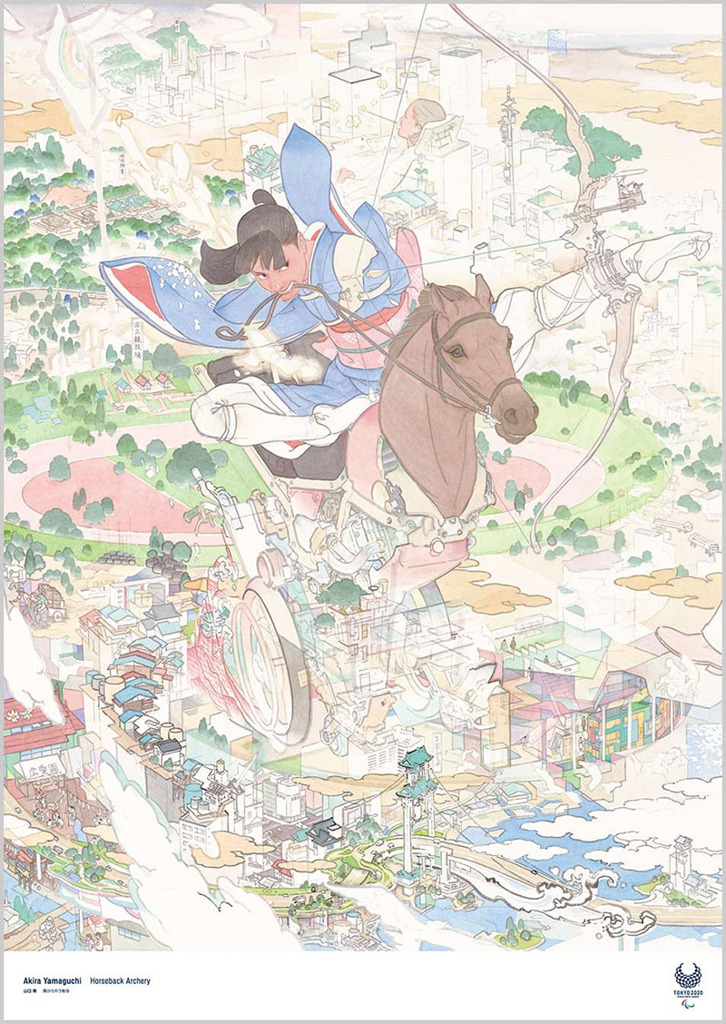 tokyo olympics 2020 official art posters 10 Tokyo Unveils Official 2020 Olympics Art Posters and Theyre Beautiful