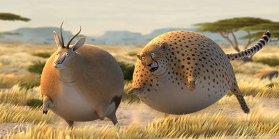 A Delightful Series of Animated Shorts Wonders: What if Animals WereRound?
