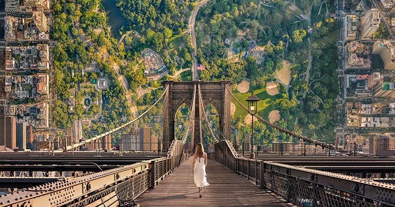 Travel Campaign Uses Inception-Like Landscapes to ConjureWanderlust