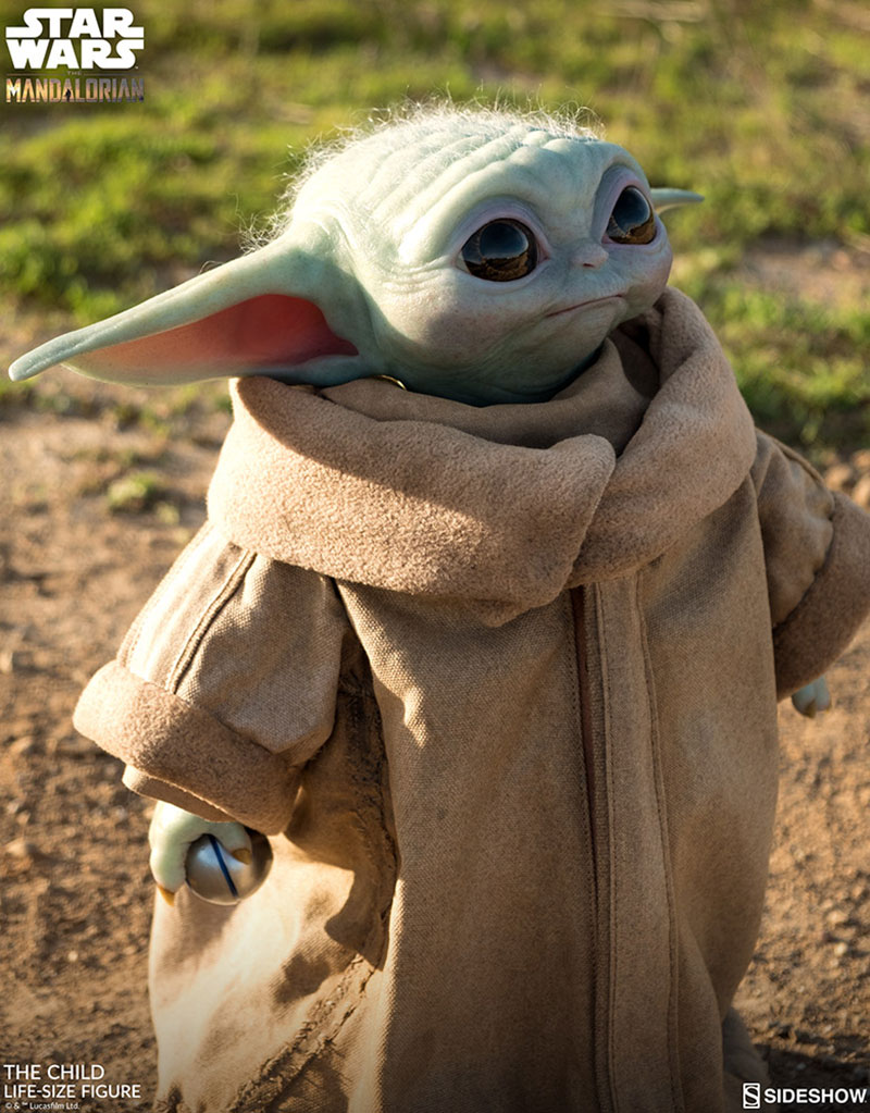 life size baby yoda figure 10 I Need this Life Size Baby Yoda Figure in My Life (11 Photos)