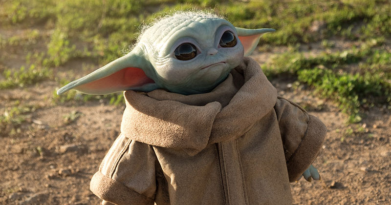 I Need this Life-Size Baby Yoda Figure in My Life (11Photos)