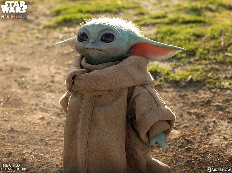 life size baby yoda figure 2 I Need this Life Size Baby Yoda Figure in My Life (11 Photos)