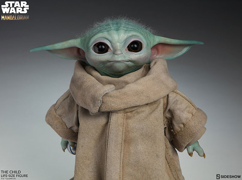 life size baby yoda figure 4 I Need this Life Size Baby Yoda Figure in My Life (11 Photos)