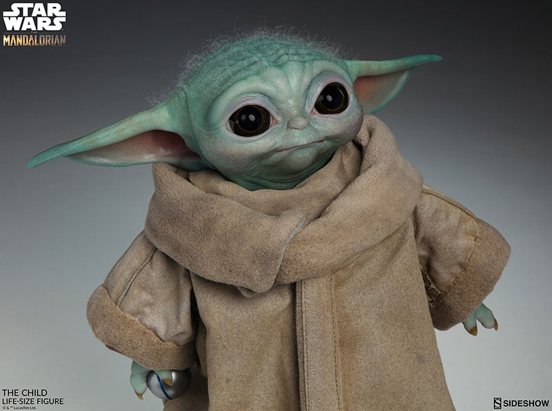 life size baby yoda figure 5 I Need this Life Size Baby Yoda Figure in My Life (11 Photos)