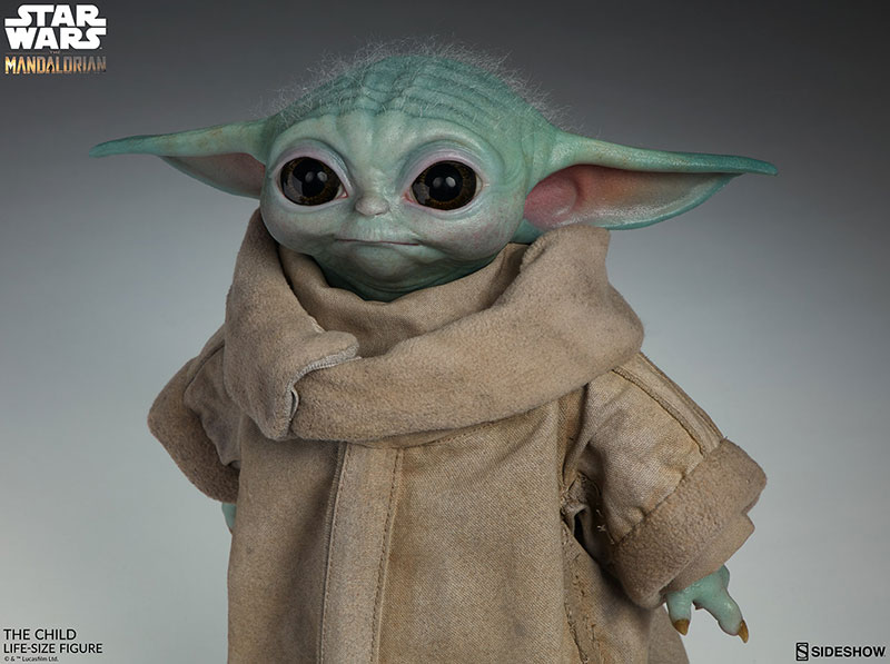 life size baby yoda figure 6 I Need this Life Size Baby Yoda Figure in My Life (11 Photos)
